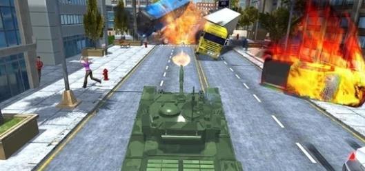 城市坦克交通游戲圖3
