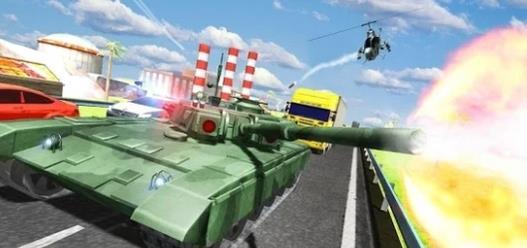 城市坦克交通游戲圖4