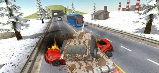 城市坦克交通游戲圖1