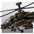 直升機炮手高空打擊