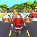 地铁圣诞老人跑酷