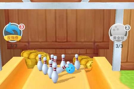 拇指保齡球3D_拇指保齡球3D小游戲圖片1