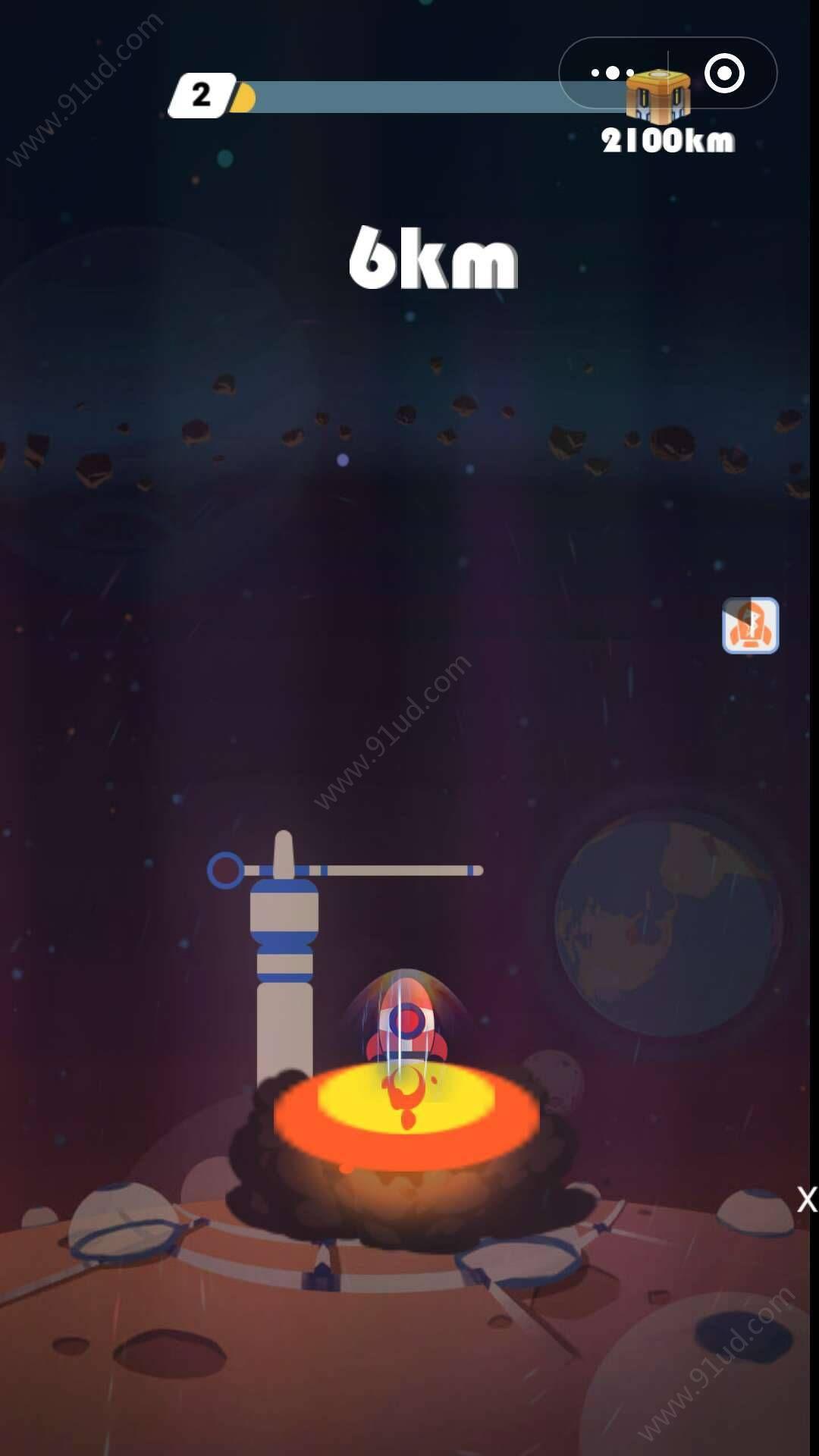 火星大冒险小程序截图