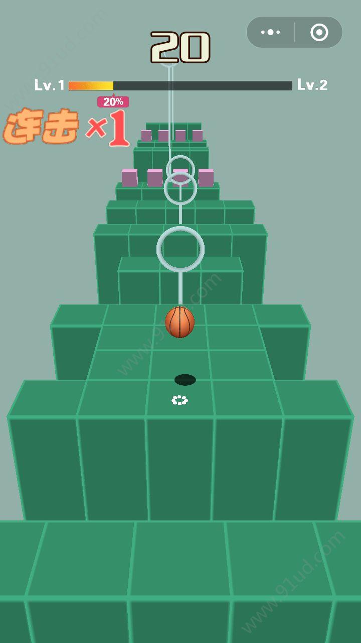 穿越小球球小程序截图
