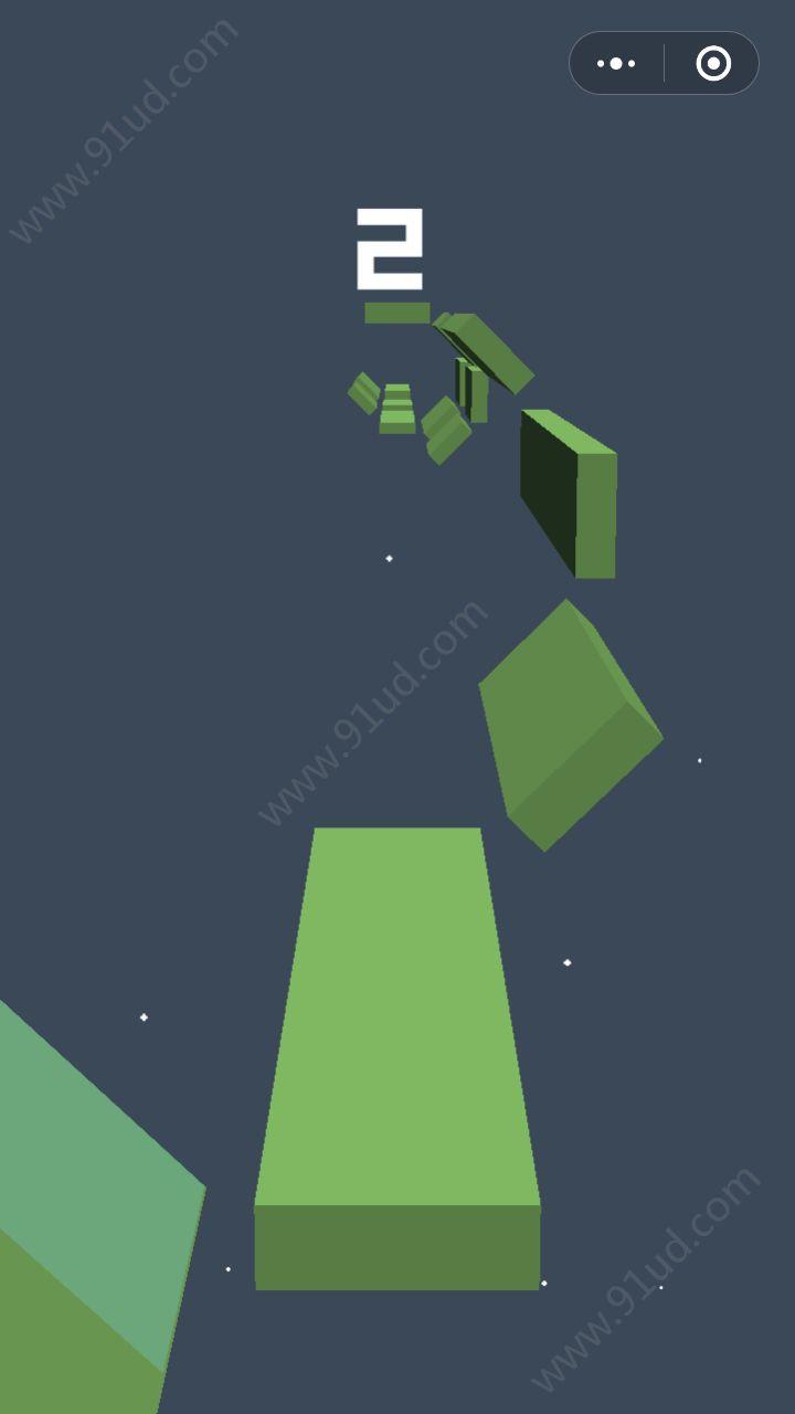 星空跳躍小程序截圖