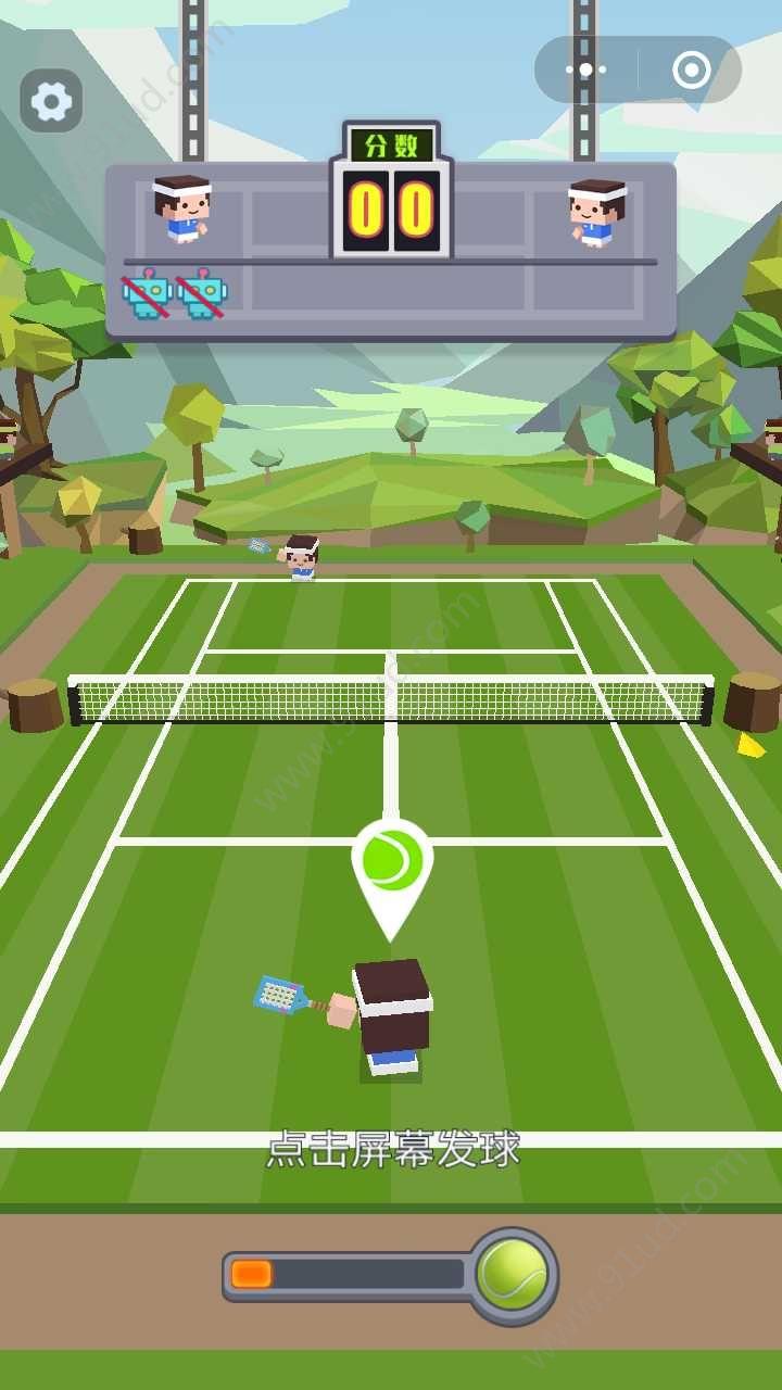 迷你網球小程序截圖