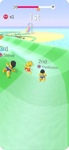 水上乐园滑行大作战游戏图2