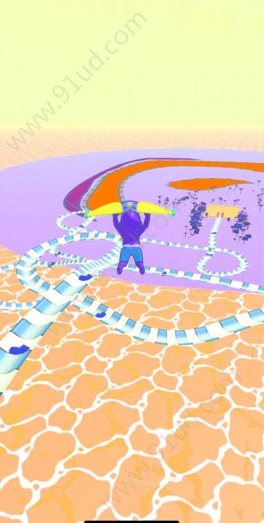 水上乐园滑行大作战游戏图3