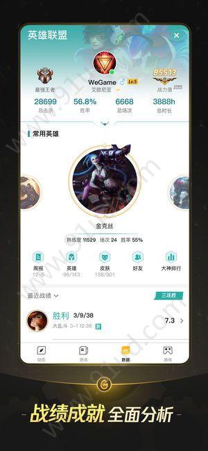 云頂之弈戰績查詢app圖4