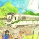 北京上海广州深圳武汉地铁线路图